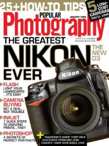 Popular Photography January (2008)